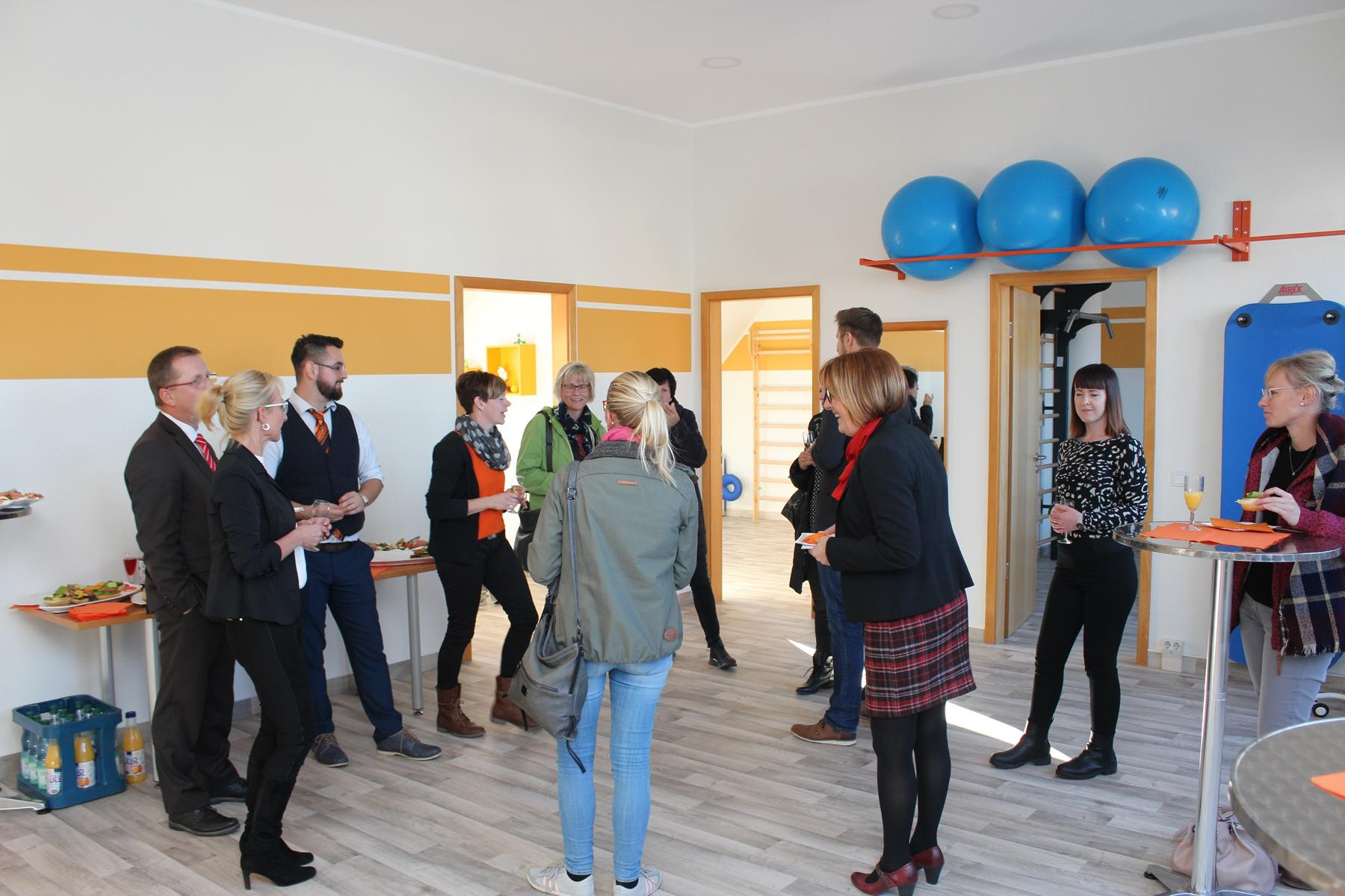 Eröffnung der Physio- und Ergotherapiepraxis in Herzberg (Elster)